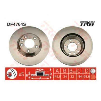 DISCO FRENO AUDI Q7 3.6 FSI QUATTRO (4LB) 3.6 LT. 280HP 06-10 7L8615301