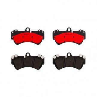 JUEGO BALATAS FRENO VW TOUAREG V6 (7L) 3.2 LT. 241HP 04-06 7L6698151C